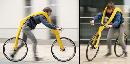 bicicleta alergatorului